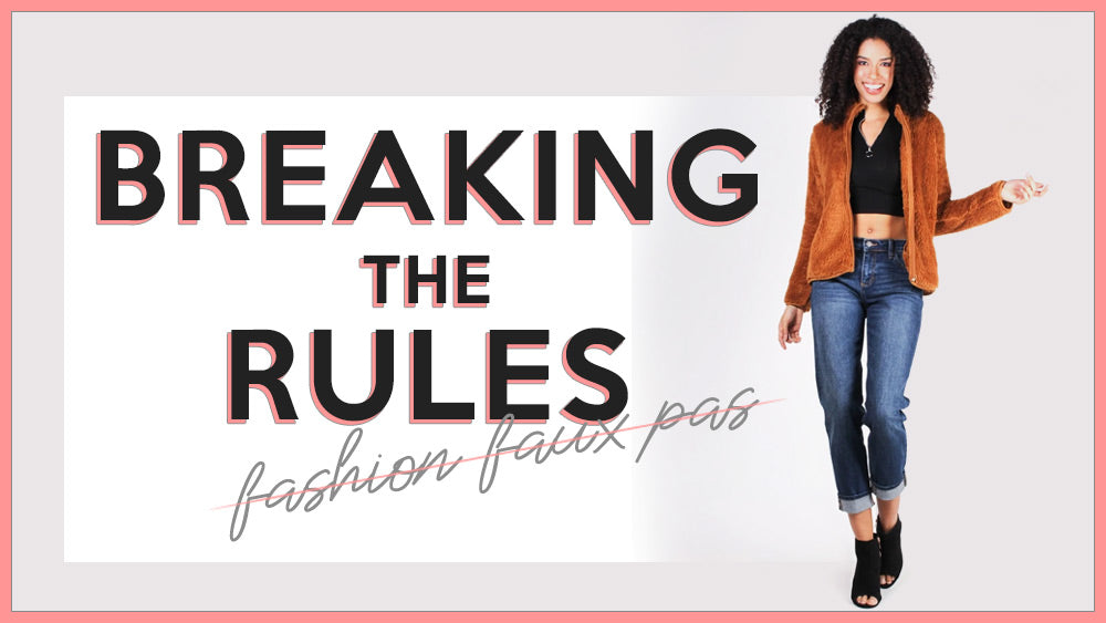 "Breaking the Rules: How there's no such thing as ""Fashion Faux Pas"" anymore"