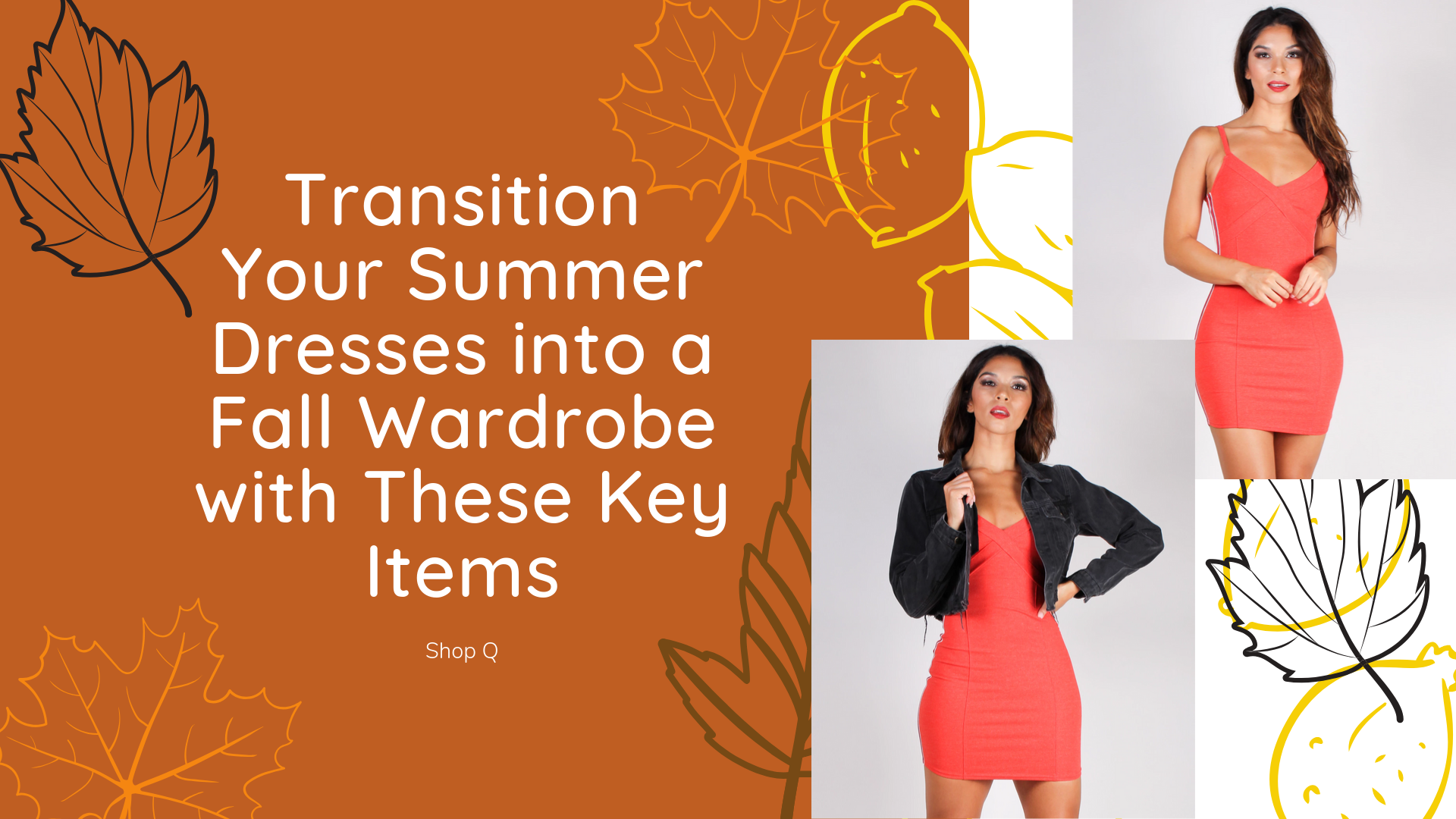 Transition Your Summer Dresses into a Fall Wardrobe with These Key Items