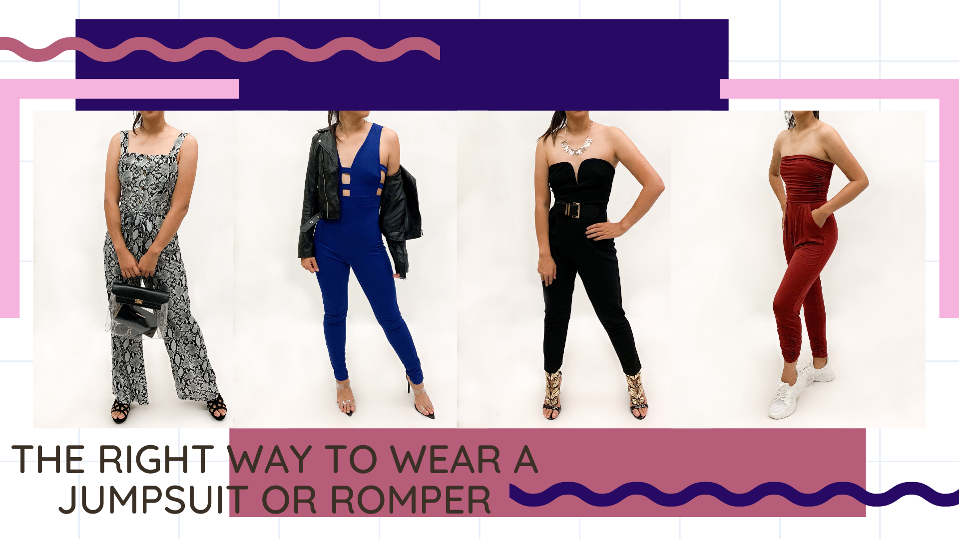 The Right Way to Wear a Jumpsuit or Romper