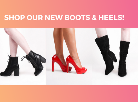 Shop our new Boots & Heels!