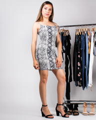 The Snake Charmer Bodycon Dress