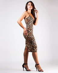 Chase After Your Rawrr-ing Passion Bodycon Dress