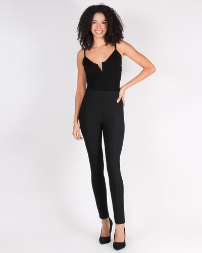 Fashion Q Shop Q Believe in the Power of Boss Babe Slacks Black  5A1005