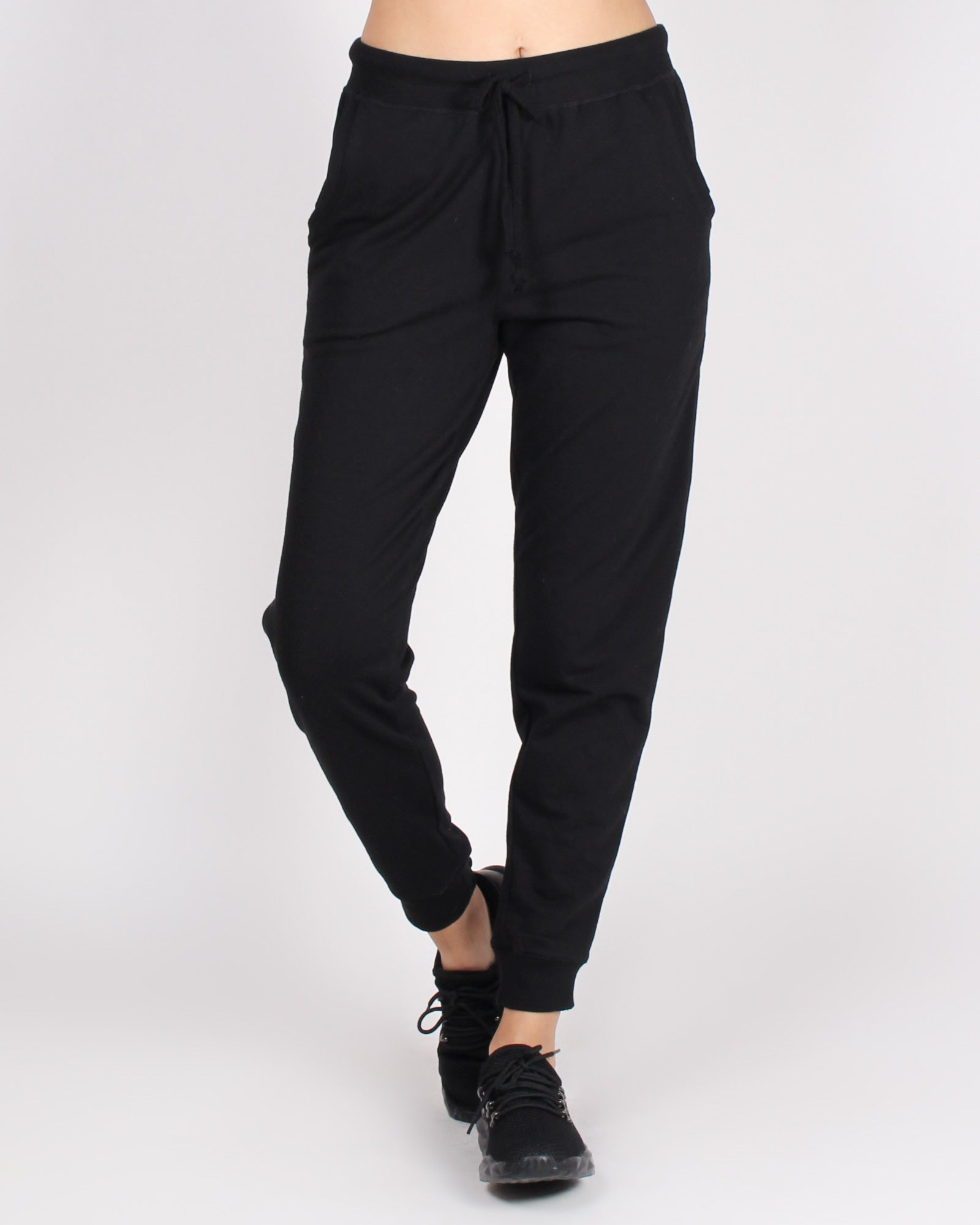 Bombastic Love Jogger Pants (Black)