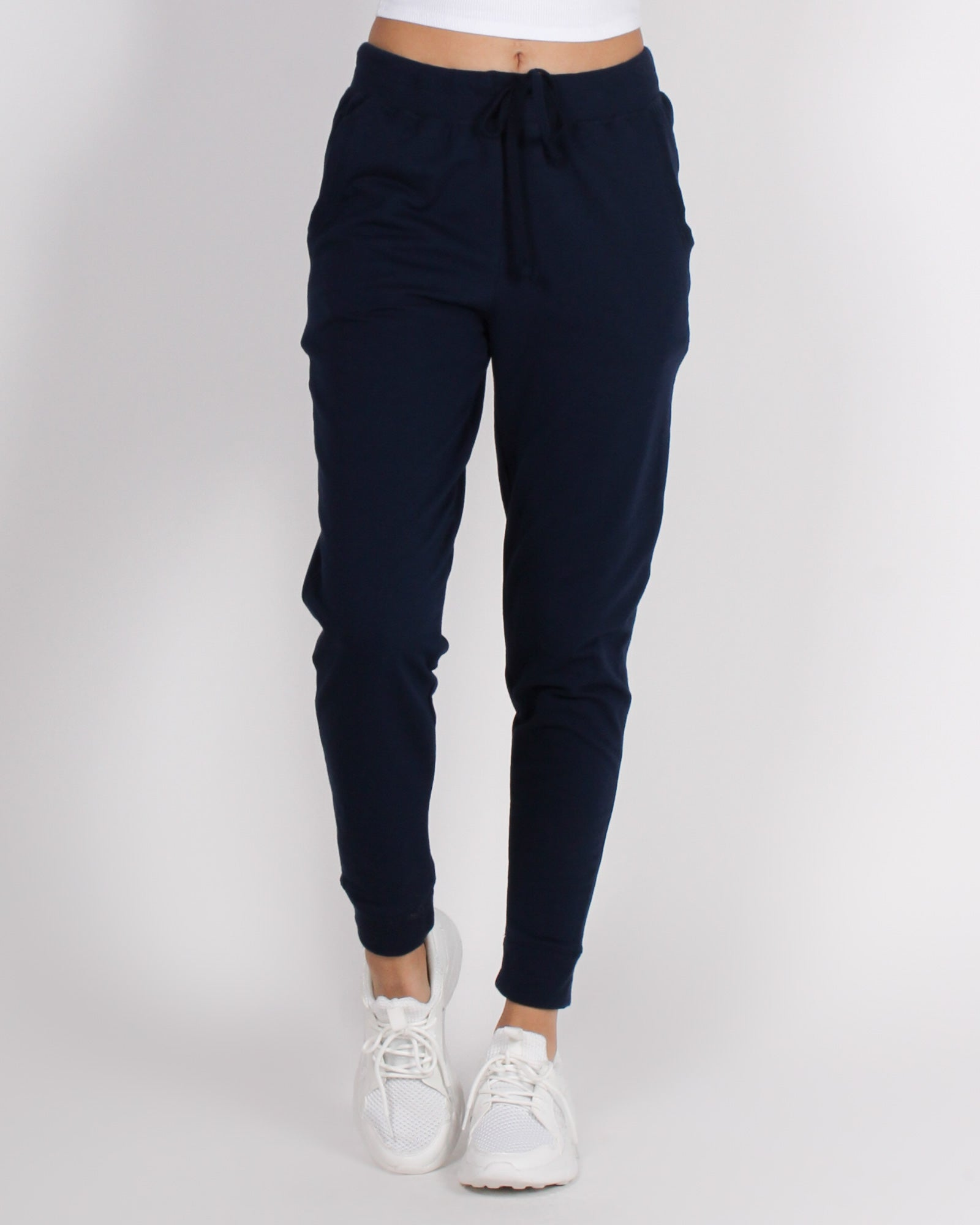 Fashion Q Shop Q Bombastic Love Jogger Pants (Navy) 65776