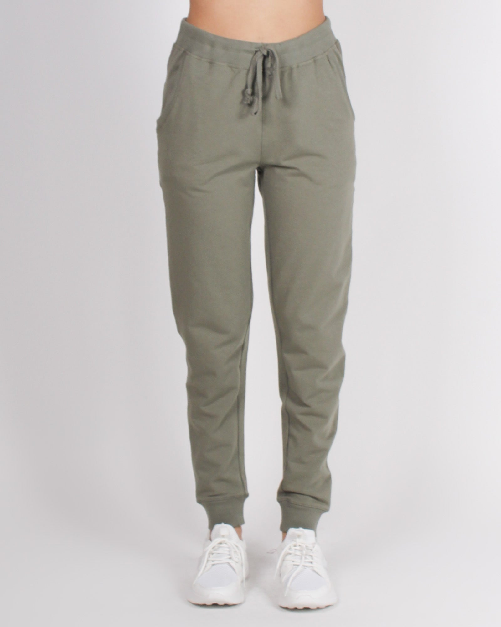 Fashion Q Shop Q Bombastic Love Jogger Pants (Olive) 65776