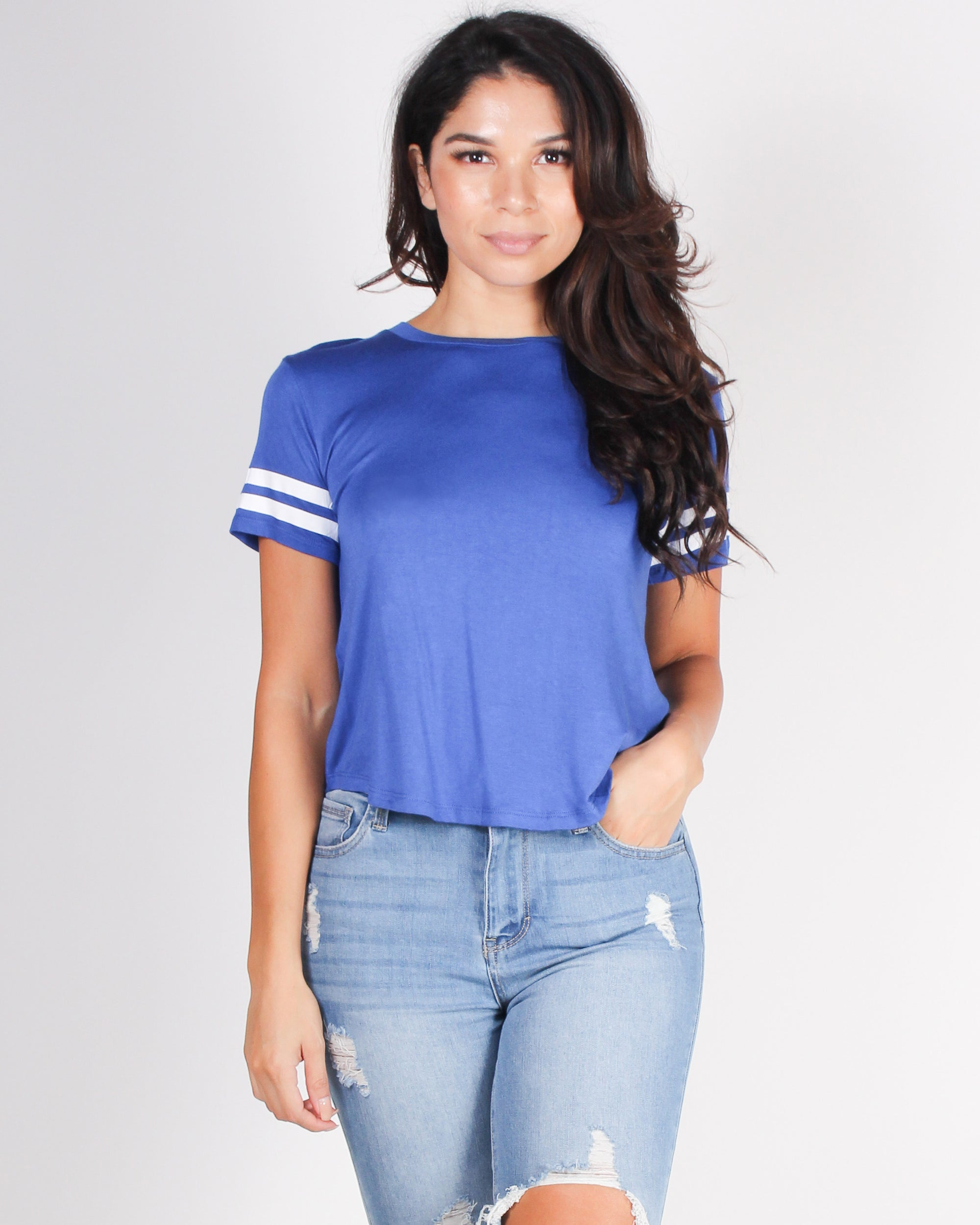 Start Today Top (Royal Blue)