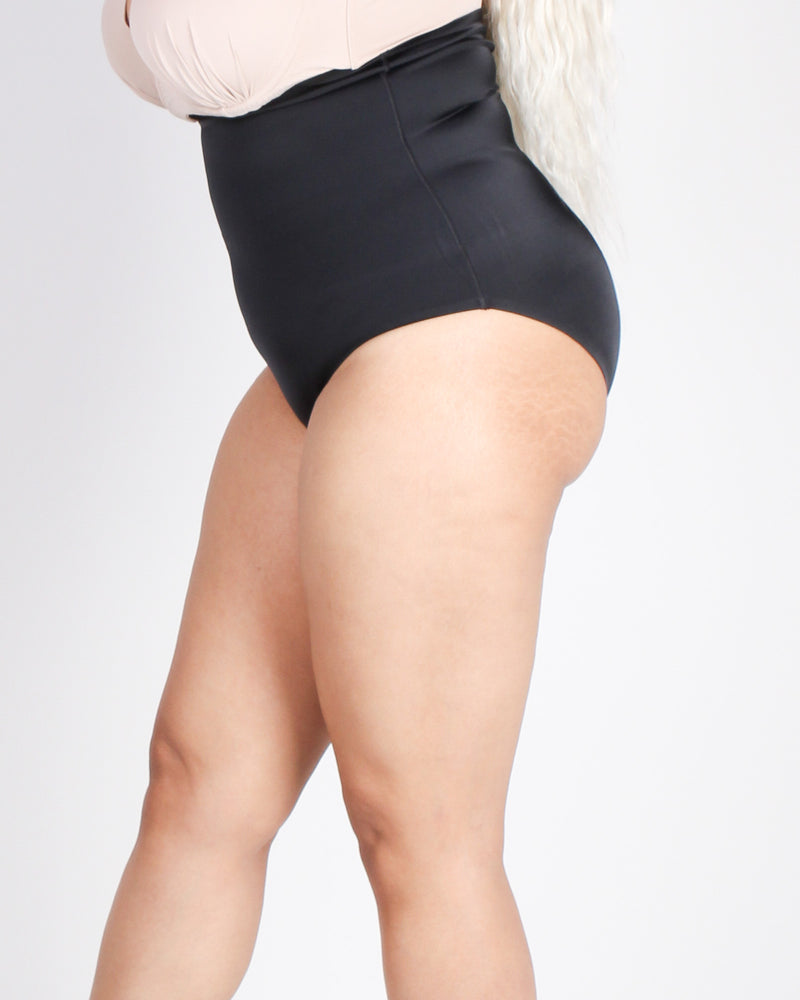 Fashion Q Shop Q A Little Bit of Magic Plus Body Shaper Panties (Black) 70101-SSP