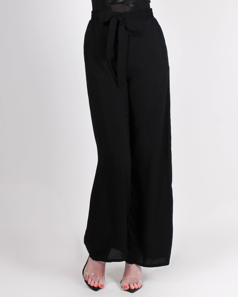 Fashion Q Shop Q Put Your Sassy Pants on High Waisted Trousers (Black) 71120