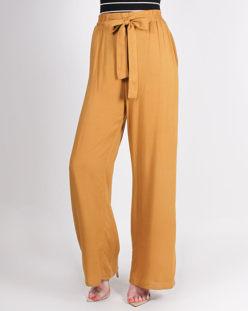 Fashion Q Shop Q Put Your Sassy Pants on High Waisted Trousers (Mustard) 71120