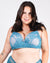 Revel in it Lace Plus Bra (Teal)