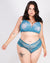 Million Dreams Await Tanga Plus Panties (Teal)