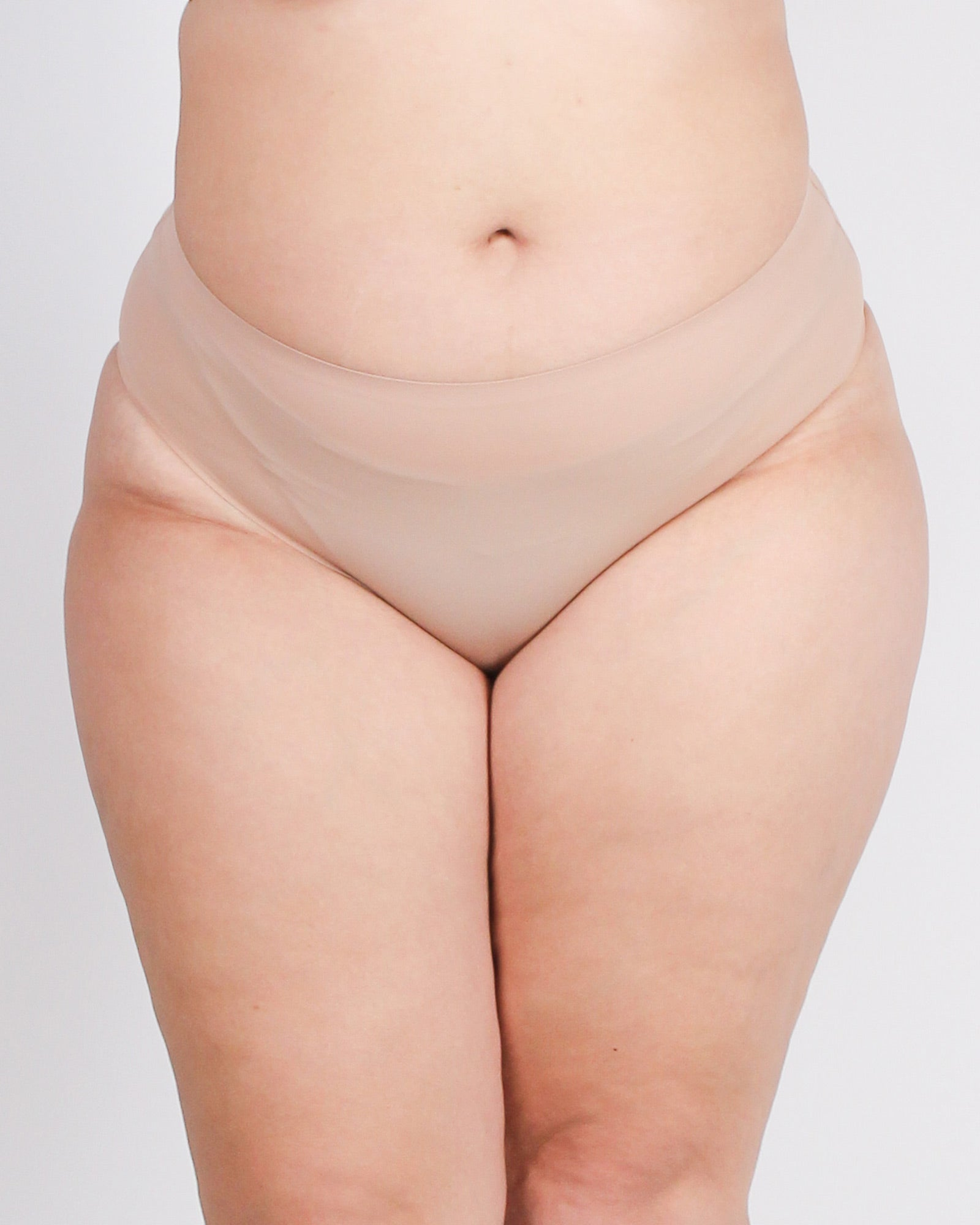 Fashion Q Shop Q Shh! Our Little Secret Plus Panties (Nude) 7998-BF