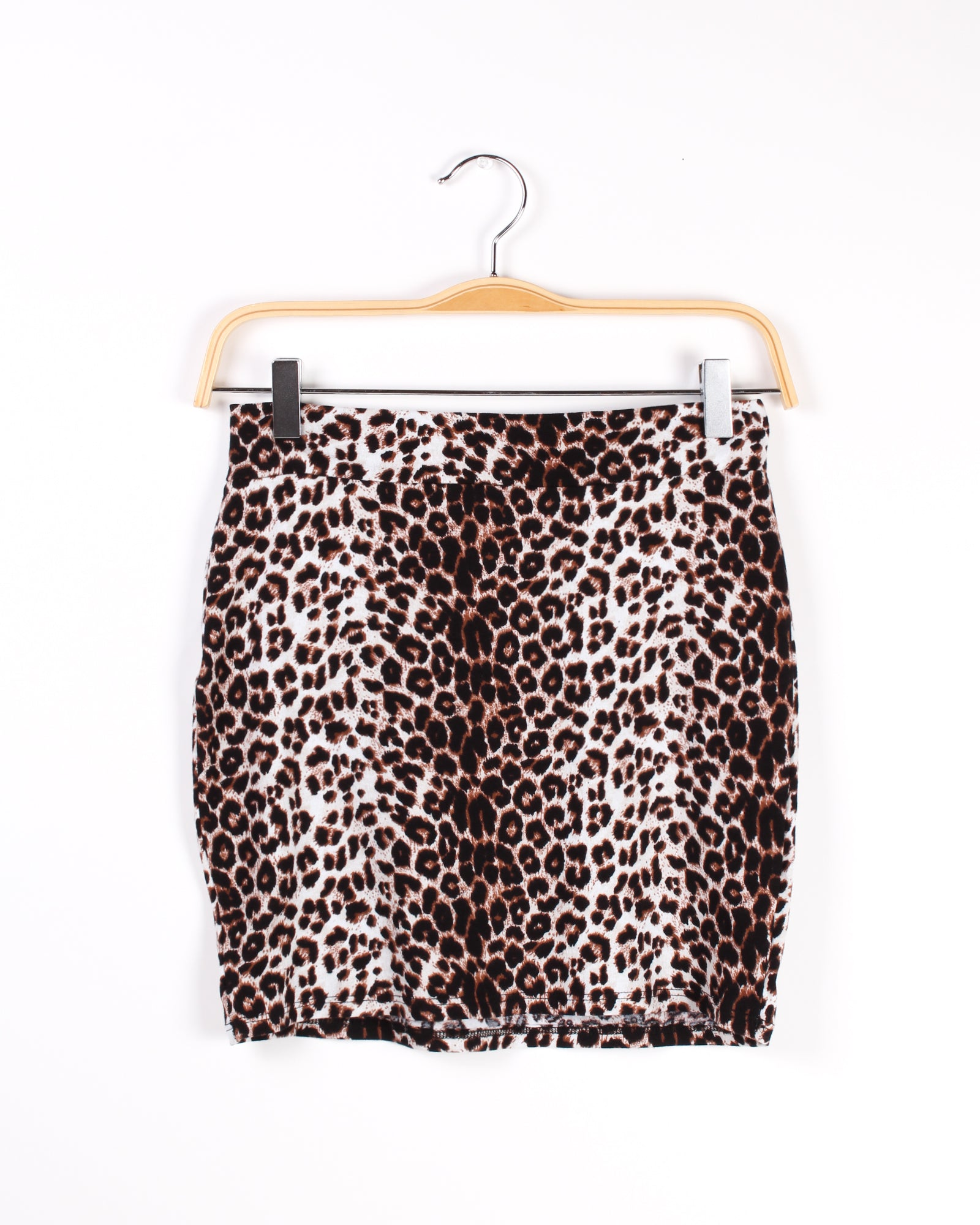 Walk like Fire Cheetah Miniskirt