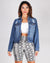 Fashion Q Shop Q This Must Be Love Denim Jacket (Medium) 8962JN