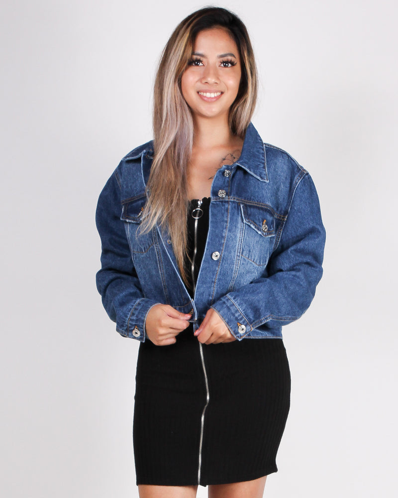 Embrace This Day Denim Jacket