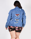 Denim Therapy Plus Jacket
