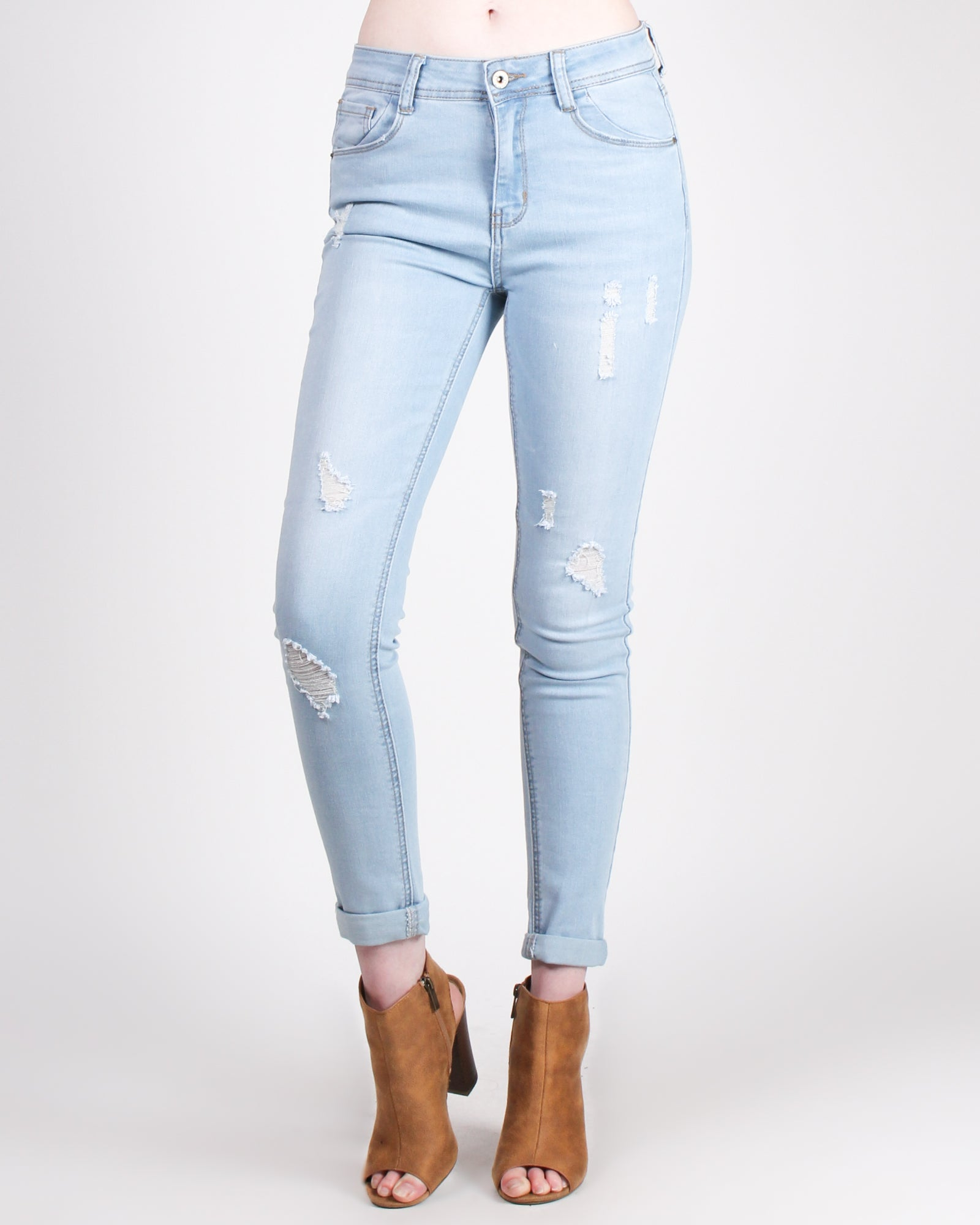 The Perfect Fit Denim Jeans (Light)
