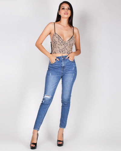 Fashion Q Shop Q Show Off Your Booty-full High Rise Skinny Jeans (Medium) 90130