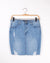 Fashion Q Shop Q Ciao Bella Denim Skirt (Light) 90131