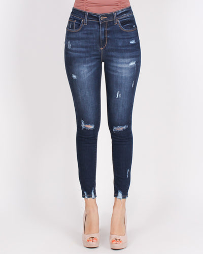 Fashion Q Shop Q Chase Adventure High Rise Jeans 90134