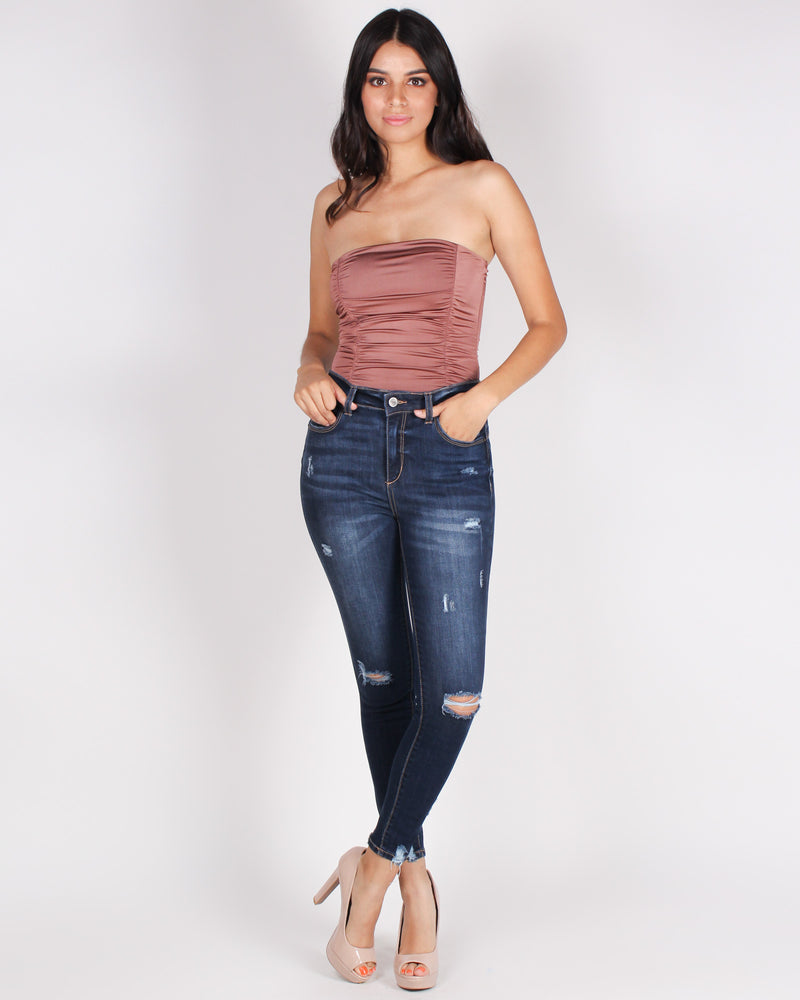 Chase Adventure High Rise Jeans (Dark)