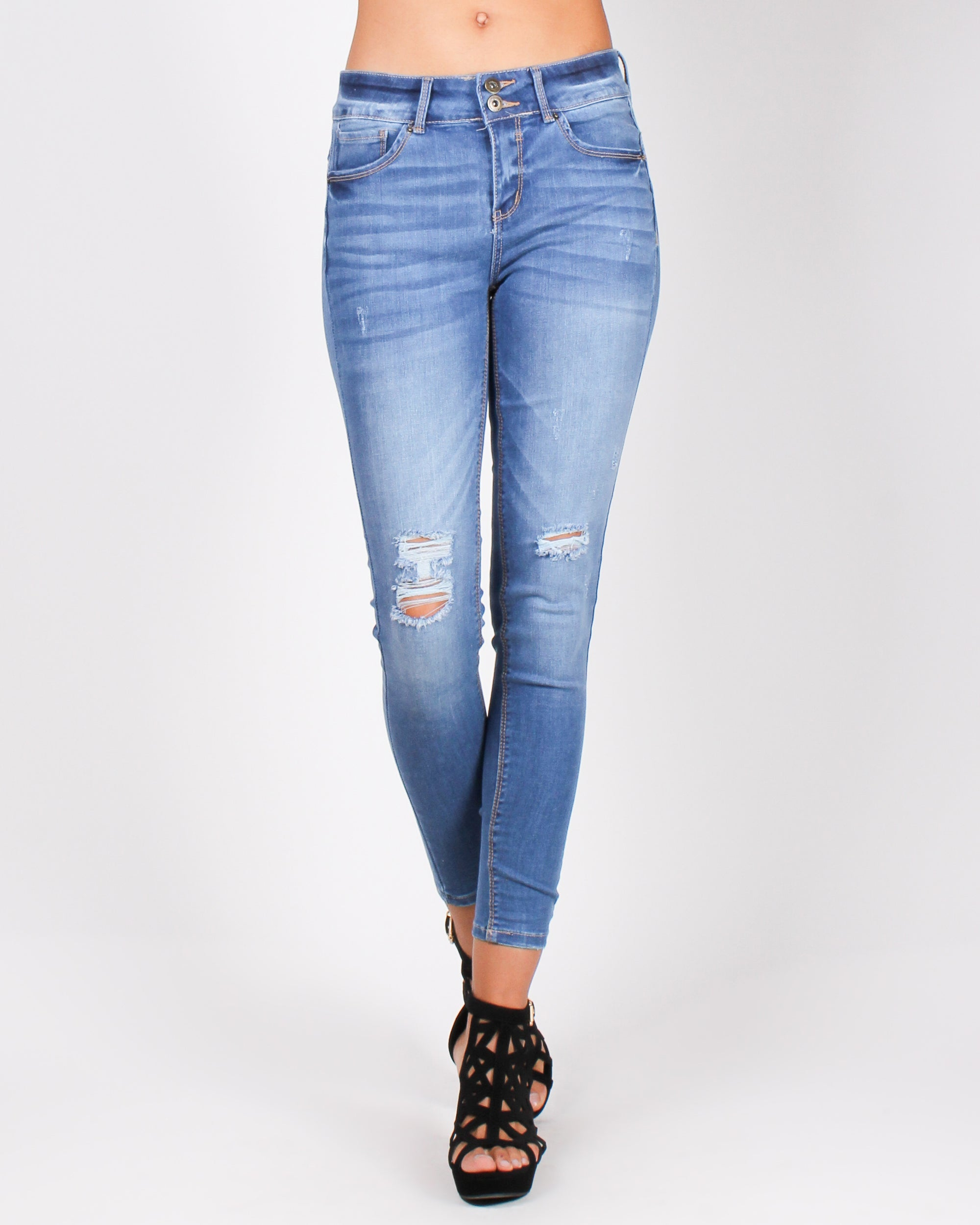 Fashion Q Shop Q Back That Ass-et Skinny Jeans (Medium) 90135