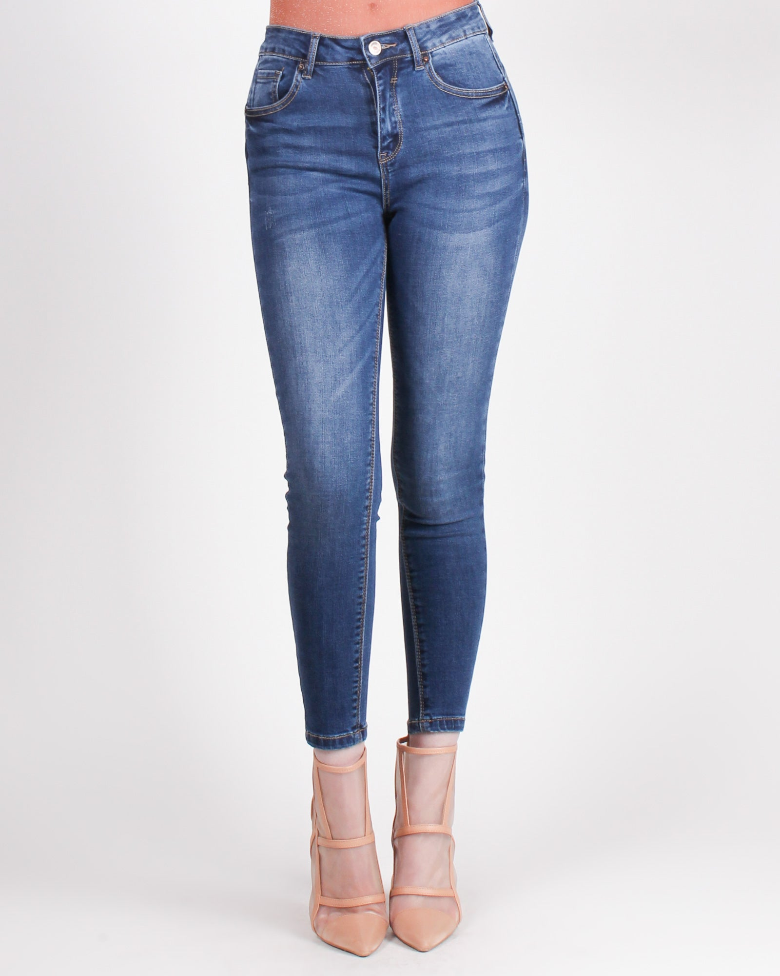 Fashion Q Shop Q Butt, I Know You're Jelly Skinny Jeans (Medium) 90137
