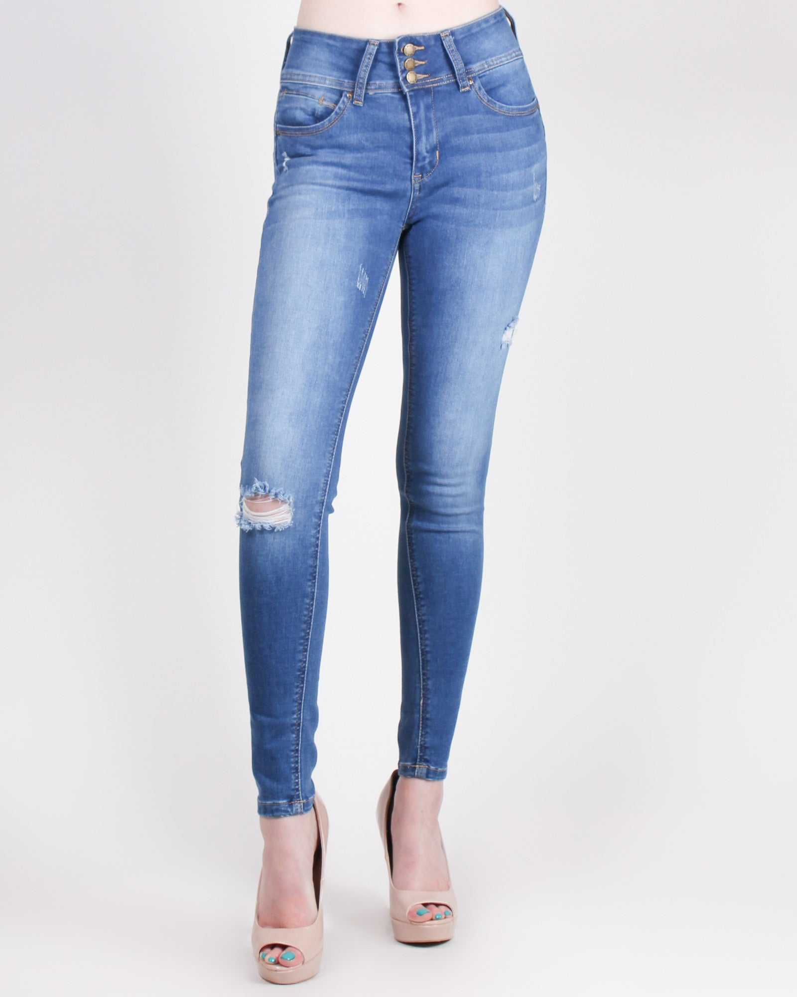 Fashion Q Shop Q Say Yes to New Adventures Skinny Jeans (Medium) 90156