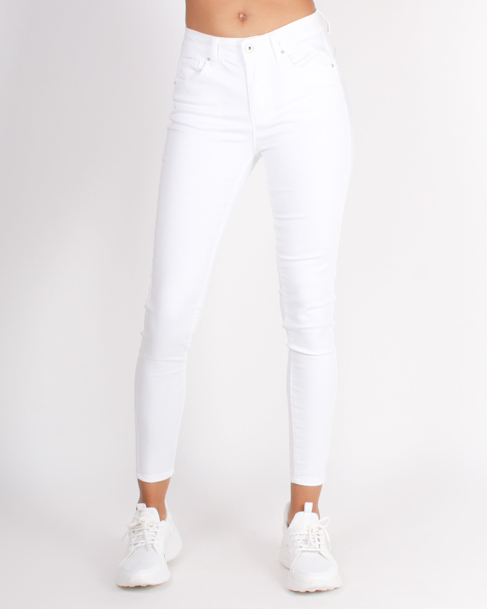 Fashion Q Shop Q Drive Me Crazy Skinny Jeans (White) 90210