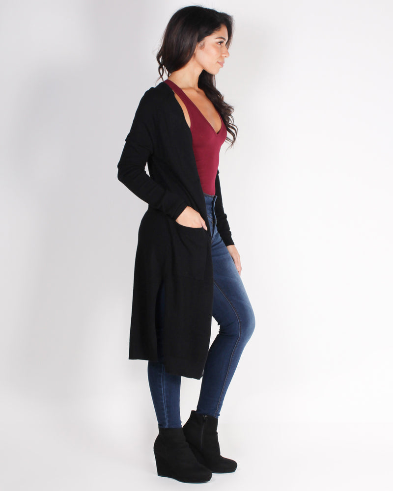 Fashion Q Shop Q All the Best People are Crazy Cardigan (Black) 9187WH
