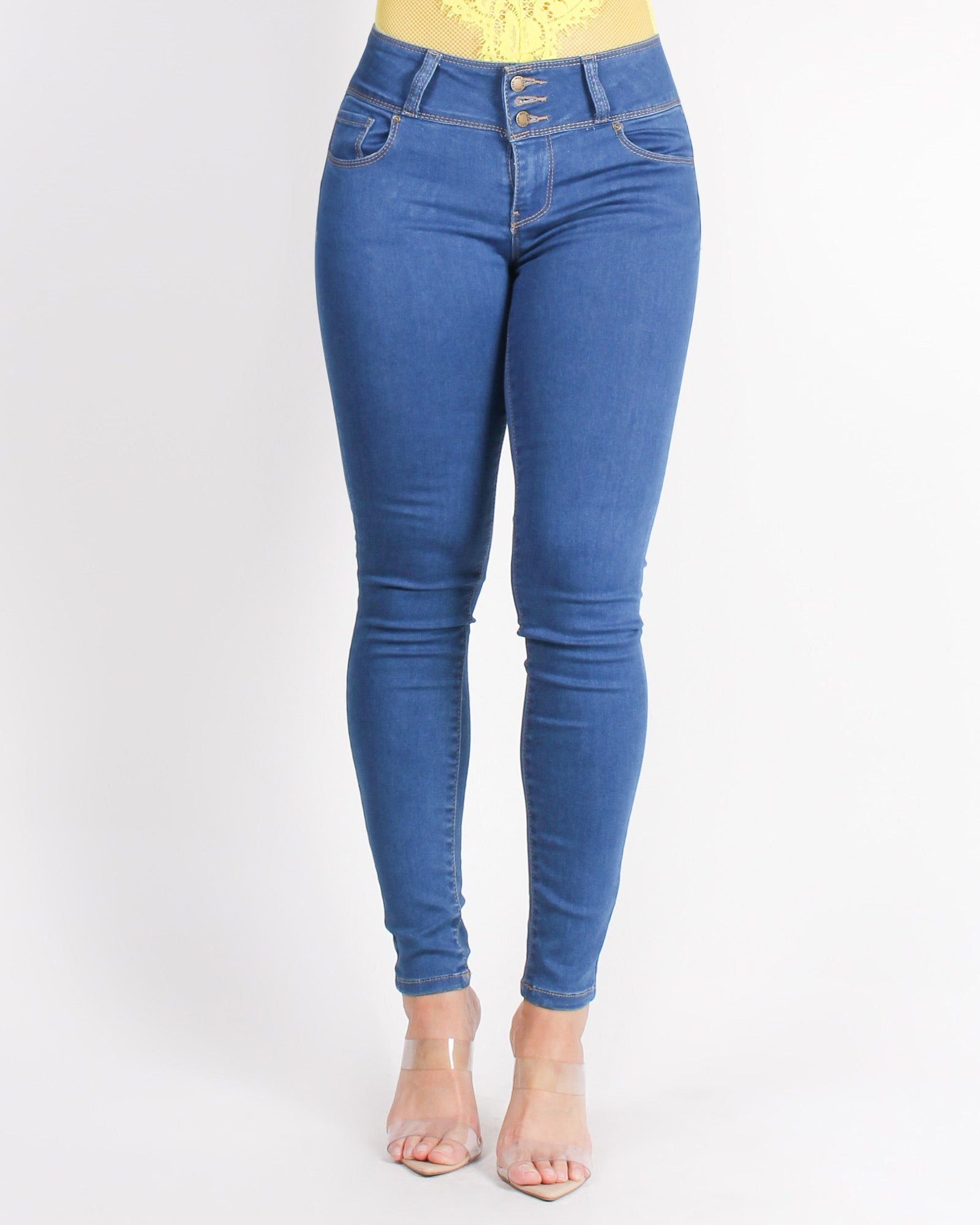 I'm Too Fabulous Push-Up Collection Jeans (Medium Wash)