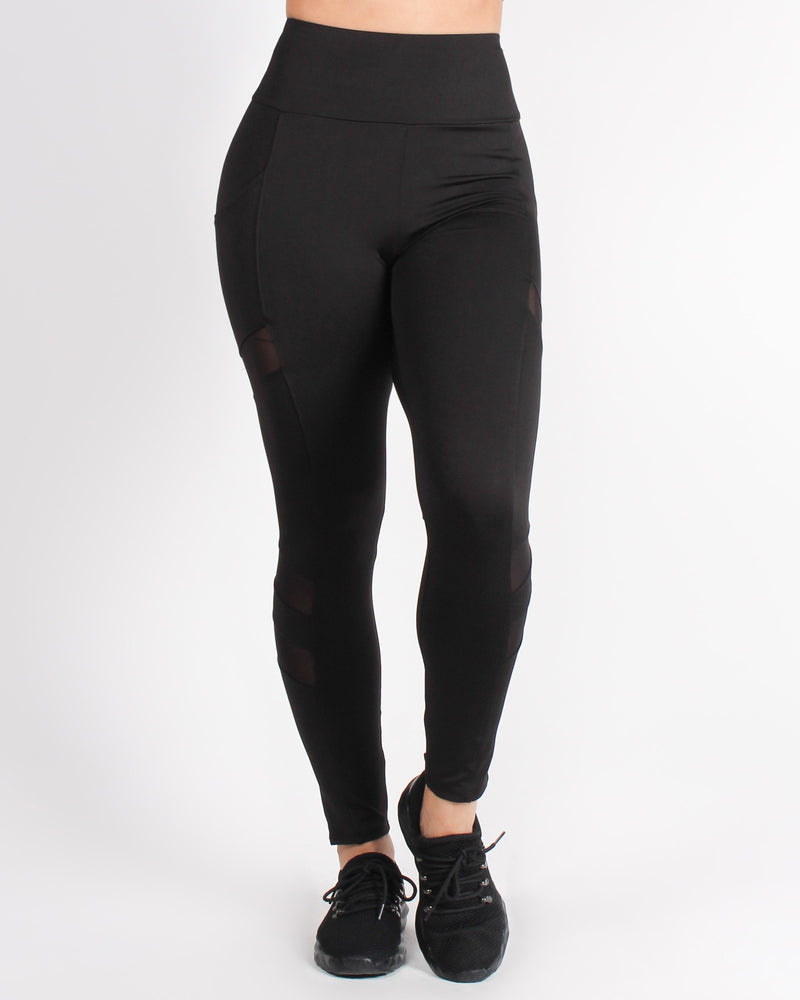 Fashion Q Shop Q Best Version of Yourself Yoga Pants (Black) AP63863