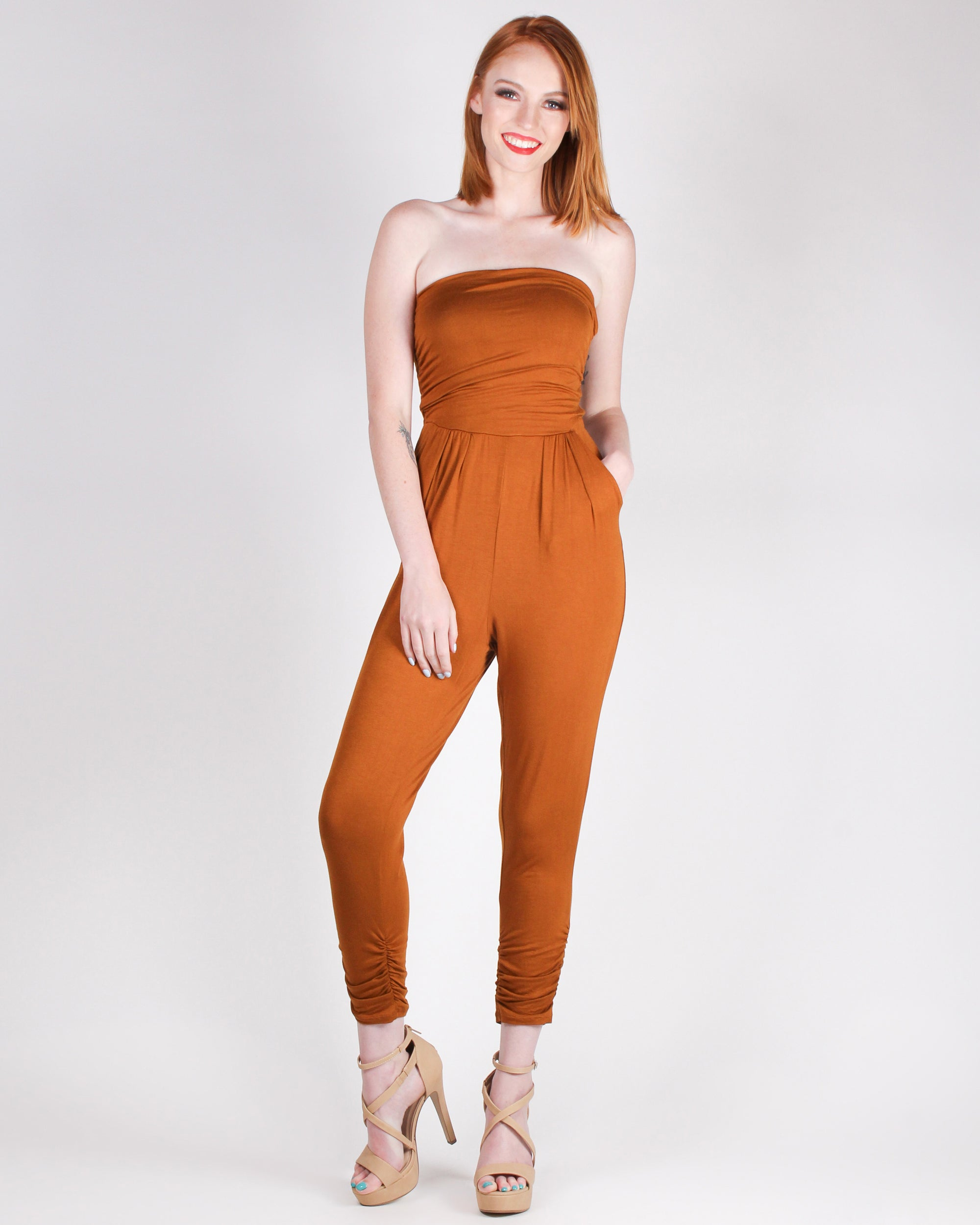 Best Compliments Jumpsuit (Terra)