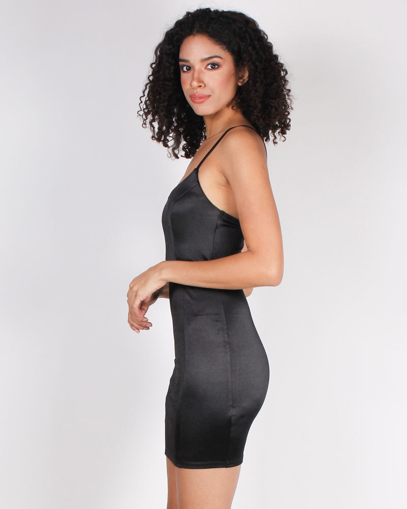 Fashion Q Shop Q One Dress is All it Takes Bodycon Mini-dress (Black) BC2032