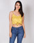Fashion Q Shop Q 99 Problems, But This Ain't One Crop Top (Light Mustard) BE6914