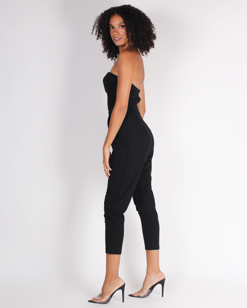 A Risk Worth Taking Jumpsuit (Black)