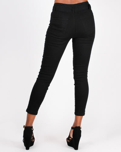 Let Your Feet Wander and Soul Ignite Pants (Black)