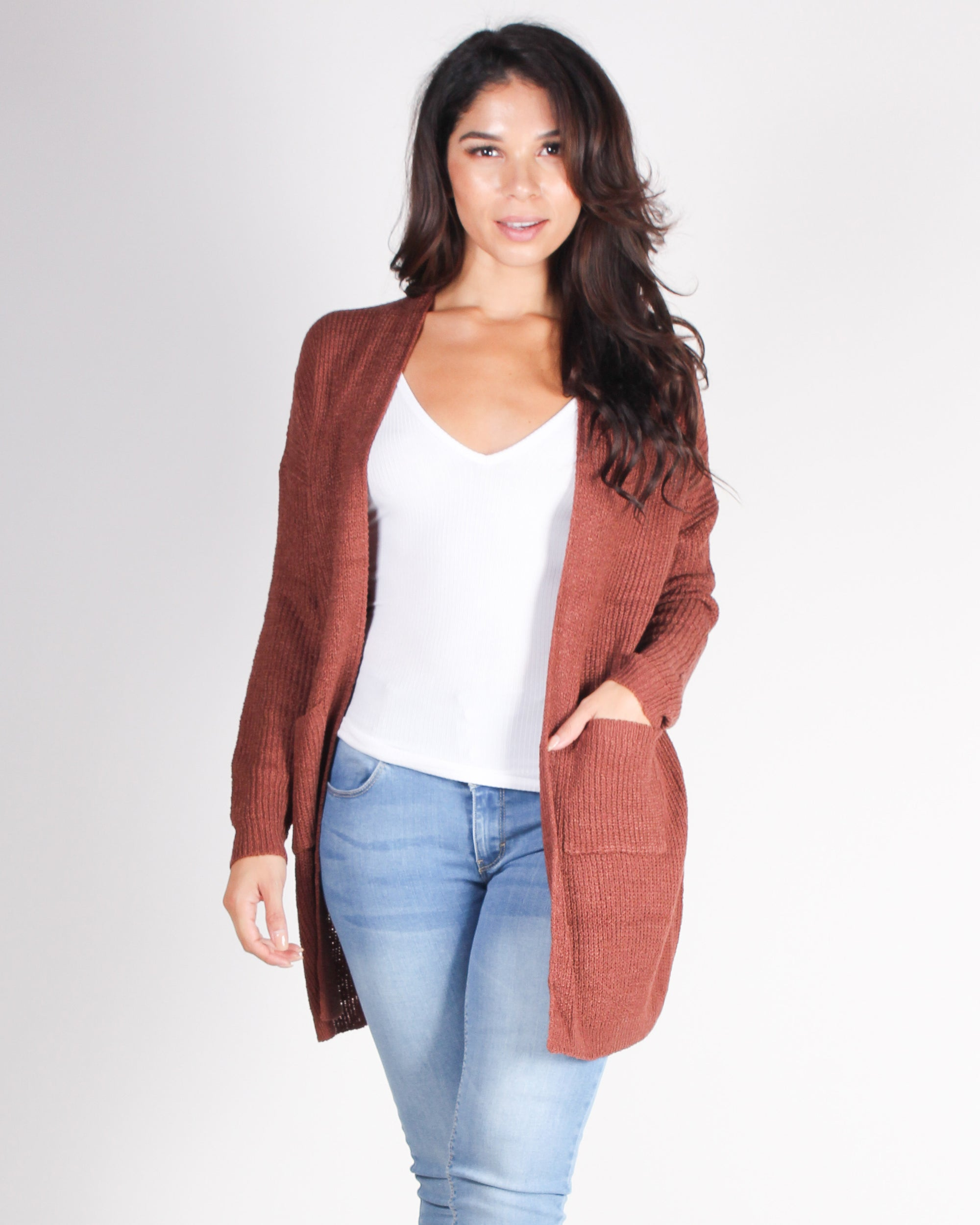 Fashion Q Shop Q Own How Amazing You Are Cardigan (Cherrywood) C10085