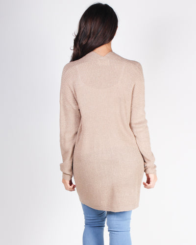 Fashion Q Shop Q Own How Amazing You Are Cardigan (Taupe) C10085