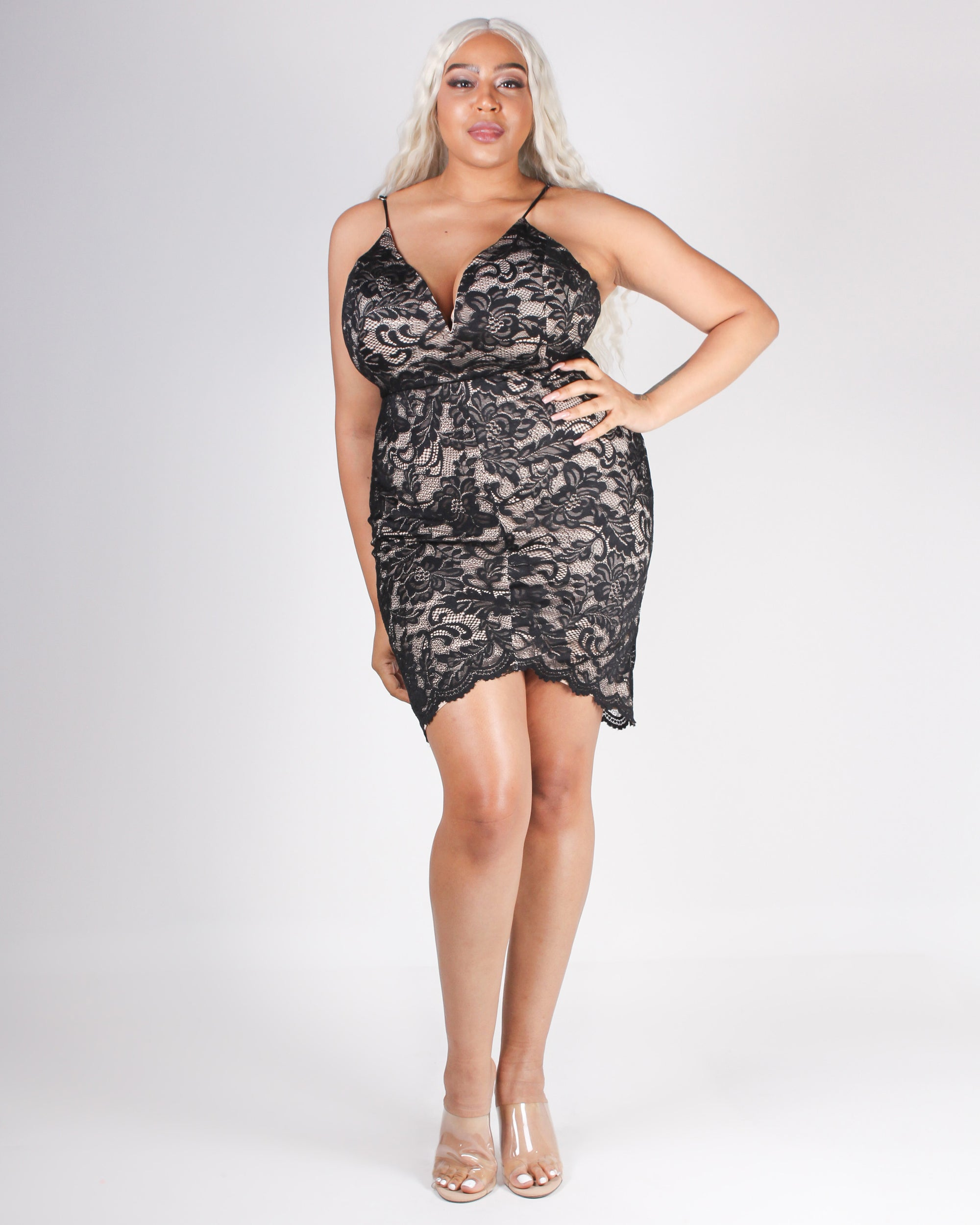 Fashion Q Shop Q Fri-nally Night Out Bodycon Dress (Black) CD53597P