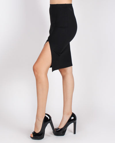 The Evolution of You Pencil Skirt (Black)