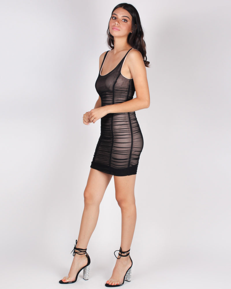 Be The Party Bodycon Dress (Black)