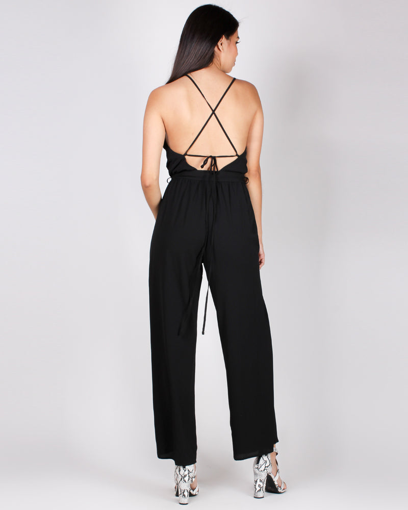 Fashion Q Shop Q The Beauty of You Jumpsuit (Black) CP24229