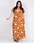 Fashion Q Shop Q Everyday has New Magic Floral Plus Maxi Dress (Amber) D2855X