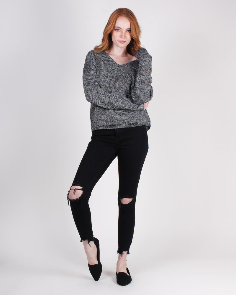 Fashion Q Shop Q If There is No Way, Create One Skinny Jeans (Black) E54001MAR