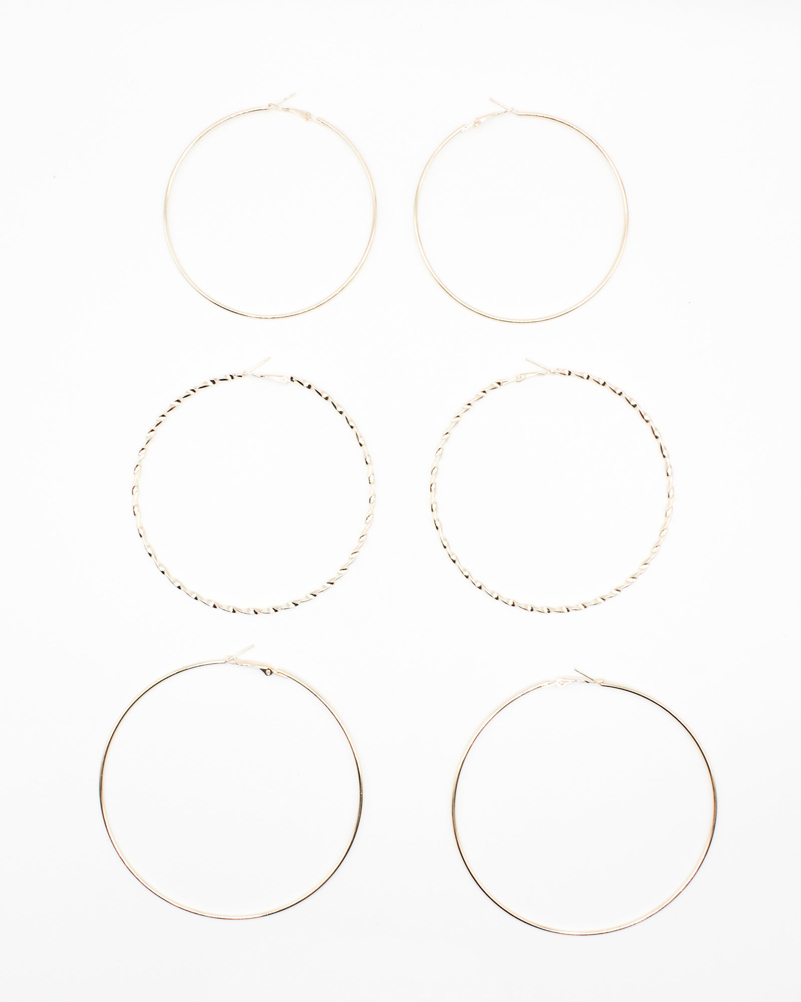 Fashion Q Shop Q Glow, Boo Hoops (Gold) ER-059
