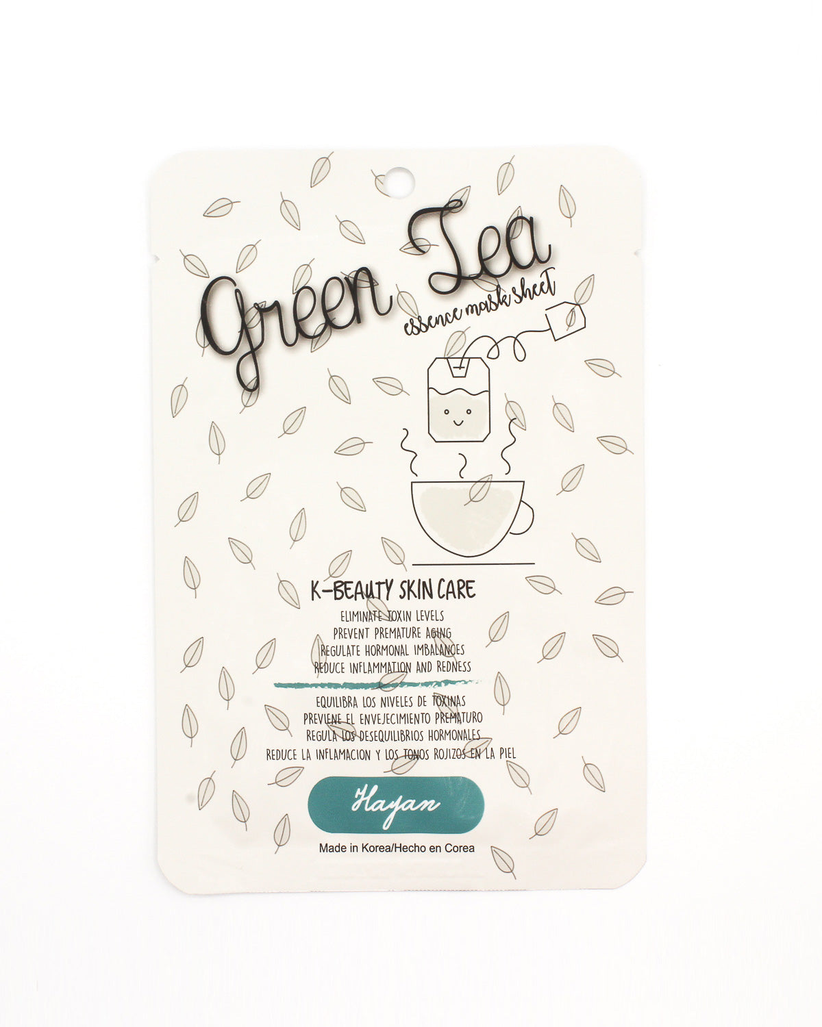 Fashion  Shop Q K-Beauty Skincare Line: Green Tea Essence Mask Sheet K-BEAUTY