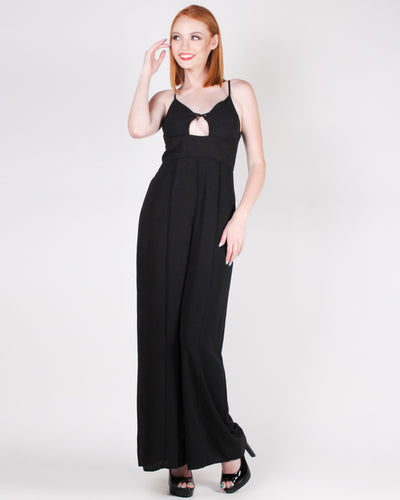 Fashion Q Shop Q You are a Glamazon Jumpsuit (Black) FL19H098