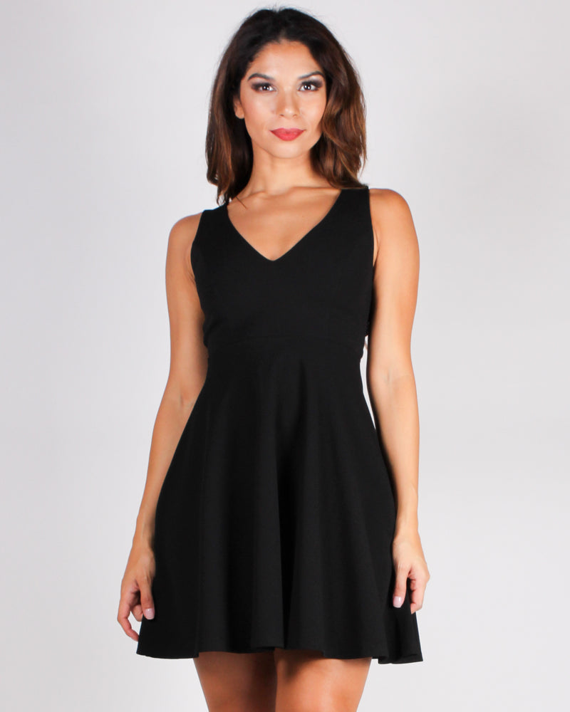 Time for a Partea Dress (Black)
